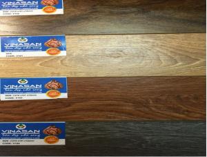 Sàn gỗ Vinasan cốt xanh kháng nước, san go vinasan