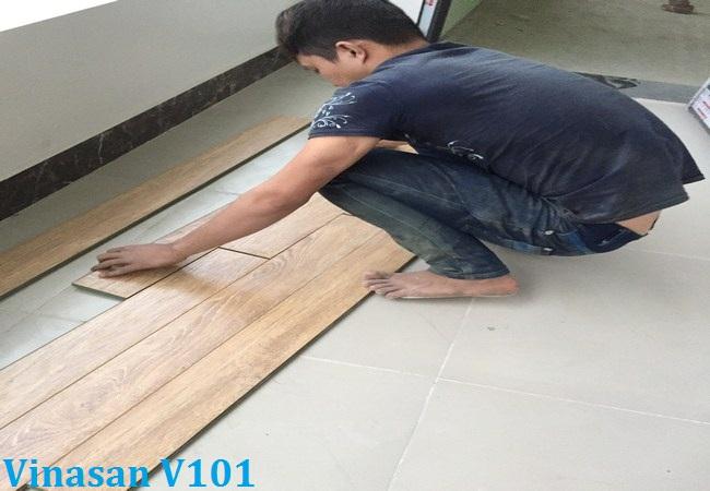 thi công sàn gỗ, thi công ván sàn, hoàn thiện sàn gỗ