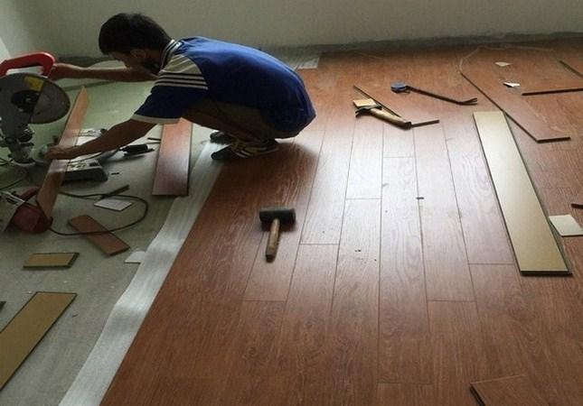 ván sàn, thi công ván sàn gỗ, san go cong nghiep