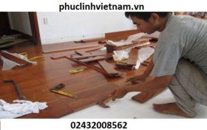một số lưu ý khi thi công sàn gỗ