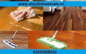 vệ sinh sàn gỗ, lắp đặt sàn gỗ an toàn