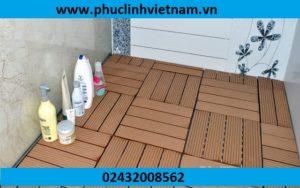 báo giá vỉ gỗ nhựa, sàn nhựa chất lượng cho nhà tắm