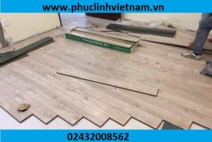 một số lưu ý khi lắp đặt sàn gỗ