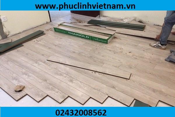 lắp đặt sàn gỗ Hfa Nội