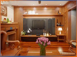 lựa chọn gỗ ốp tường