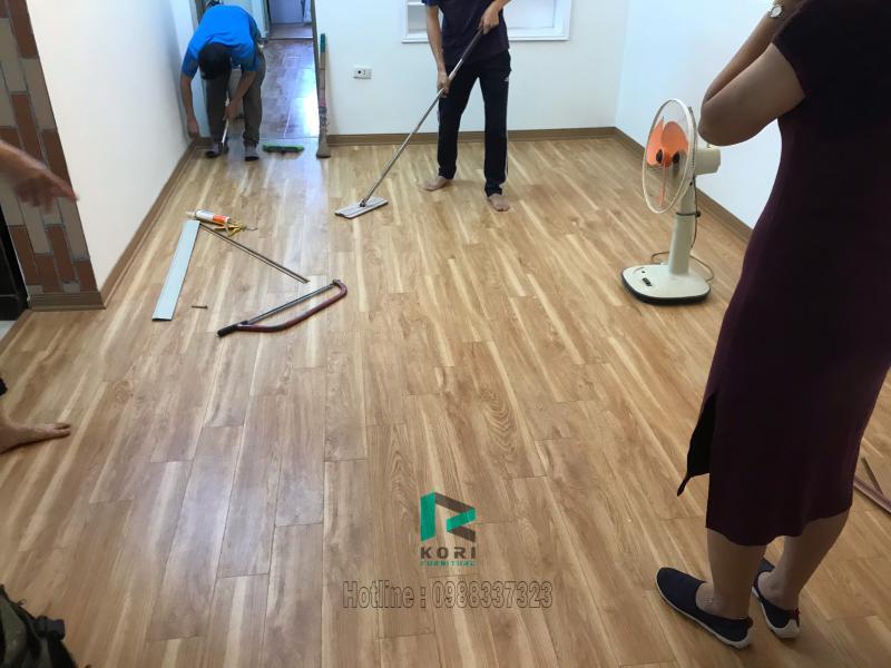 báo giá sàn nhựa giả gỗ, thi công sàn nhựa tại cao bằng,
